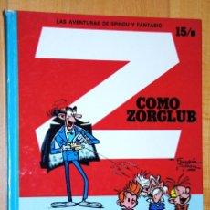 Cómics: SPIROU Y FANTASIO, Z COMO ZORGLUB ALBUM Nº 15/B. Lote 95566039