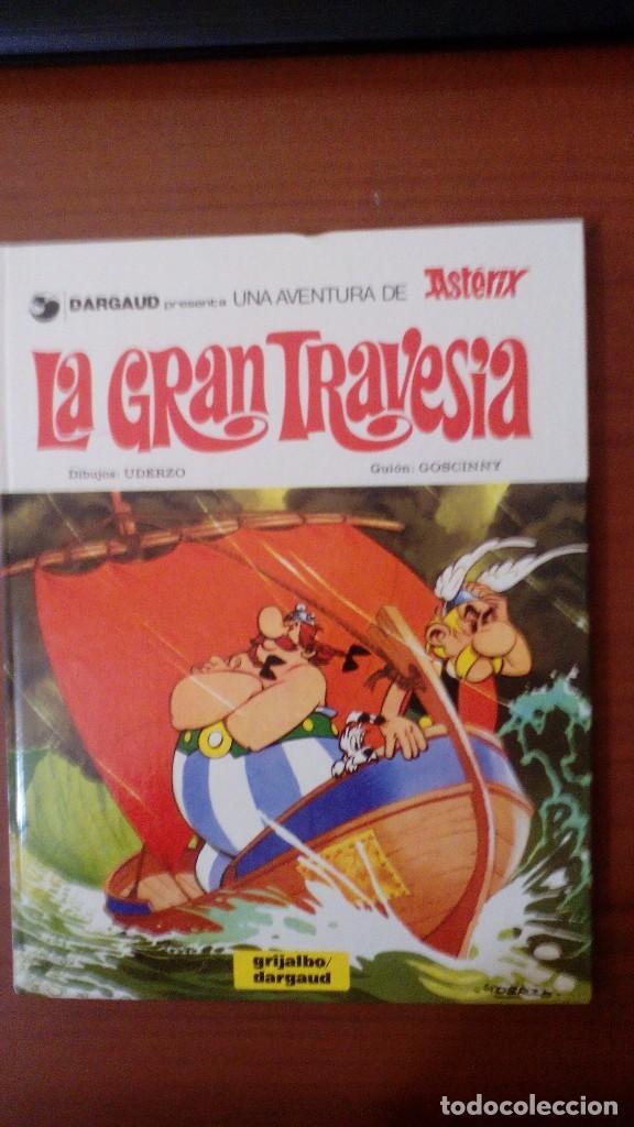 LA GRAN TRAVESÍA (Tebeos y Comics - Grijalbo - Asterix)