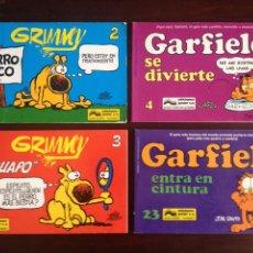 Cómics: LOTE 4 CÓMICS GARFIELD Y GRIMMY. Lote 95667828