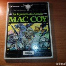 Cómics: MAC COY Nº 1 LA LEYENDA MAC COY EDITORIAL GRIJALBO ALBUM TAPA DURA 1989. Lote 95681039