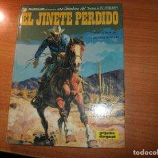 Cómics: TENIENTE BLUEBERRY Nº 19 EL JINETE PERDIDO TAPA DURA. NORMA EDITORIAL.. Lote 95683987