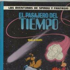Cómics: LAS AVENTURAS DE SPIROU Y FANTASIO 22: EL PASAJERO DEL TIEMPO, 1990, MUY BUEN ESTADO. Lote 95735755