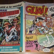 Cómics: GUAI.N°152 (TEBEOS 1989). Lote 95983243