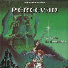 Cómics: PERCEVAN 8: LA TABLA DE ESMERALDA, 1995, IMPECABLE. Lote 96066951