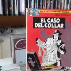 Cómics: LAS AVENTURAS DE BLAKE Y MORTIMER,EDGAR P. JACOBS 7 EL CASO DEL COLLAR. Lote 96098779