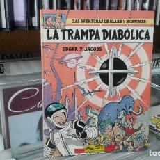 Cómics: LAS AVENTURAS DE BLAKE Y MORTIMER,EDGAR P. JACOBS,6 LA TRAMPA DIABOLICA. Lote 96098851