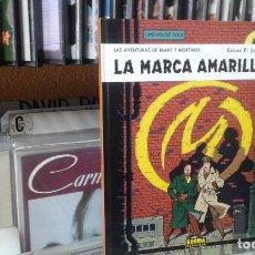 Cómics: LAS AVENTURAS DE BLAKE Y MORTIMER,EDGAR P. JACOBS,3 LA MARCA AMARILLA,NORMA. Lote 96099295