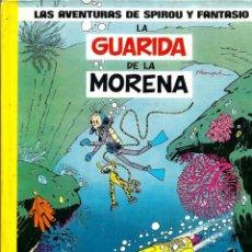Cómics: SPIROU Y FANTASIO Nº 7 - LA GUARIDA DE LA MORENA - ED. JUNIOR 1982 1ª EDICION - LOMO AMARILLO - BIEN. Lote 96178603