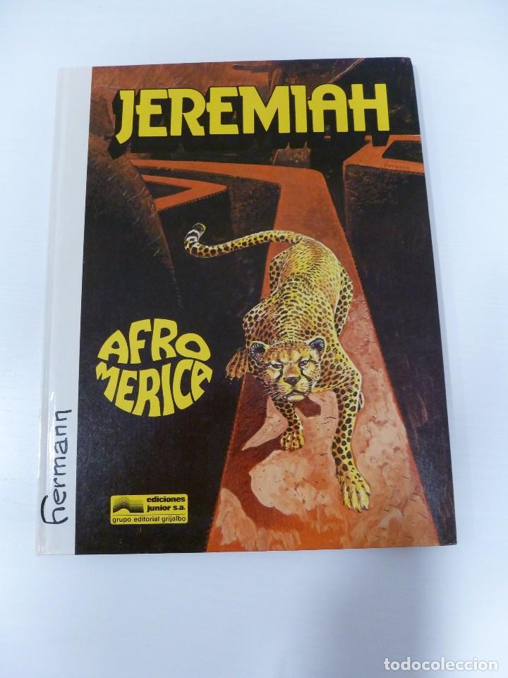 JEREMIAH. AFROMERICA. TAPAS DURAS. (Tebeos y Comics - Grijalbo - Jeremiah)