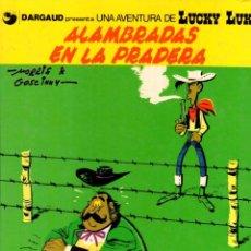 Cómics: ALAMBRADAS EN LA PRADERA. LUCKY LUKE. DARGAUD. Nº 31. AÑO 1987. Lote 96216959