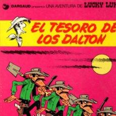 Cómics: EL TESORO DE LOS DALTON. LUCKY LUKE. DARGAUD. Nº 19. AÑO 1982. Lote 96217411
