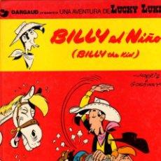Cómics: BILLY EL NIÑO (BILLY THE KID). LUCKY LUKE. DARGAUD. Nº 14. AÑO 1982. Lote 96218283