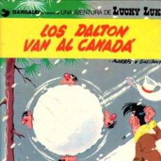Cómics: LOS DALTON VAN AL CANADA. LUCKY LUKE. DARGAUD. Nº 22. AÑO 1982. Lote 96218751