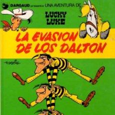 Cómics: LA EVASION DE LOS DALTON. LUCKY LUKE. DARGAUD. Nº 16. AÑO 1991. Lote 96219003