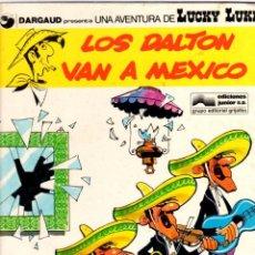 Cómics: LOS DALTON VAN A MEXICO. LUCKY LUKE. DARGAUD. Nº 8. AÑO 1979. EDICIONES JUNIOR. Lote 96219331