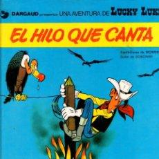 Cómics: EL HILO QUE CANTA. LUCKY LUKE. DARGAUD. Nº 10. AÑO 1979. EDICIONES JUNIOR. Lote 96219599