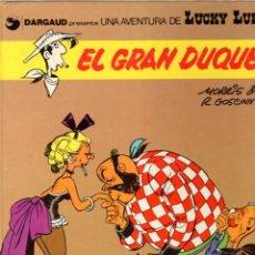 Cómics: EL GRAN DUQUE. LUCKY LUKE. DARGAUD. Nº 3. AÑO 1982. Lote 96220003