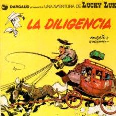 Cómics: LA DILIGENCIA. LUCKY LUKE. DARGAUD. Nº 24. AÑO 1983. Lote 96220211