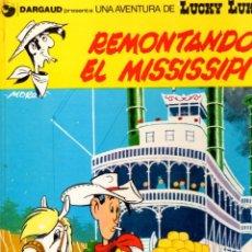Cómics: REMONTANDO EL MISSISSIPI. LUCKY LUKE. DARGAUD. Nº 9. AÑO 1979. EDICIONES JUNIOR. Lote 96220619
