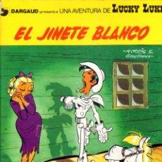 Cómics: EL JINETE BLANCO. LUCKY LUKE. DARGAUD. Nº 2. AÑO 1979. EDICIONES JUNIOR. Lote 96220879