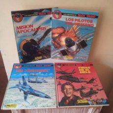 Cómics: J.M.CHARLIER - LAS AVENTURAS DE BUCK DANNY - 4 TOMOS COLECCION COMPLETA - GRIJALBO 1990. Lote 96283947