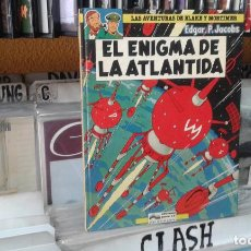 Cómics: COMIC Nº 4 LAS AVENTURAS DE BLAKE & MORTIMER EL ENIGMA DE LA ATLANTIDA. Lote 96320243