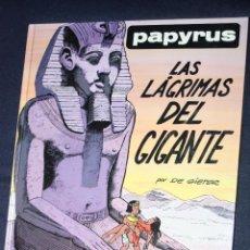 Comics : PAPYRUS (POR DE GIETER), TOMO Nª 9: LAS LAGRIMAS DEL GIGANTE ( MUY DIFICIL). Lote 96333067
