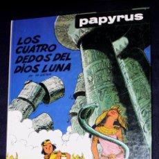 Cómics: PAPYRUS (POR DE GIETER), TOMO Nª 6: LOS CUATRO DEDOS DEL DIOS LUNA ( DIFICIL). Lote 96369043
