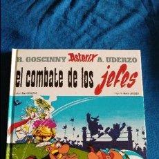 Cómics: ASTERIX EL COMBATE DE LOS JEFES EN UN ESTADO MUY BUENO . Lote 96456267