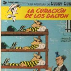 Comics : LUCKY LUKE. Nº 6. LA CURACIÓN DELOS DALTON. GRIJALBO/DARGAUD. 1985 (B/A20). Lote 96623283