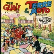 Cómics: TOPE GUAI Nº 10 - TERRE & MOTO HERMANOS - DE ESCOBAR - JUNIOR GRIJALBO 1987. Lote 96859115
