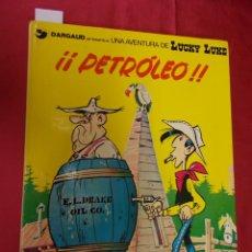 Comics : LUCKY LUKE. Nº 37. ¡¡ PETROLEO !!. GRIJALBO.. Lote 181015542