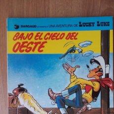 Cómics: BAJO EL CIELO DEL OESTE. LUCKY LUKE. DARGAUD. Nº 52.. Lote 97048111