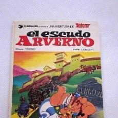 Cómics: EL ESCUDO ARVERNO. ASTÉRIX. GOSCINNY UDERZO. 1977 ED. JUNIOR. 49 PÁGINAS.. Lote 97097975