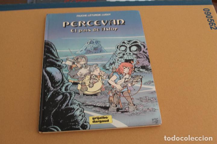 PERCEVAN Nº 4, TAPA DURA, EDITORIAL GRIJALBO (Tebeos y Comics - Grijalbo - Percevan)