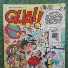 Cómics: GUAI 43. EDICIONES JUNIOR GRIJALBO.. Lote 97281499