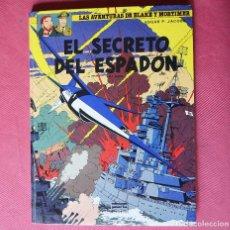Cómics: EL SECRETO DEL ESPADON - 3ª PARTE - LAS AVENTURA DE BLAKE Y MORTIMER - ED. JUNIOR GRAJALBO - 1987. Lote 97369111