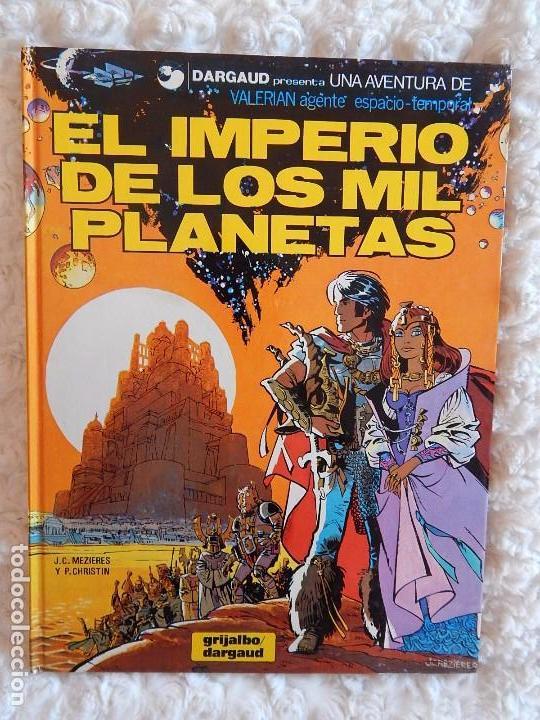 UNA AVENTURA DE VALERIAN - EL IMPERIO DE LOS MIL PLANETAS N. 1 (Tebeos y Comics - Grijalbo - Valerian)