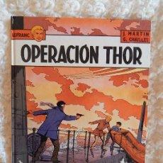 Cómics: LEFRANC - OPERACION THOR N - 6. Lote 97608371