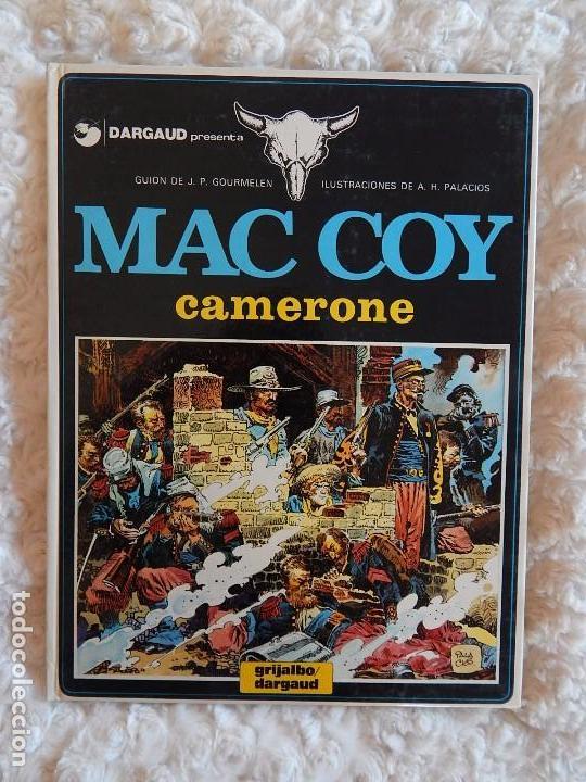 MAC COY - CAMERONE N. 11 (Tebeos y Comics - Grijalbo - Mac Coy)
