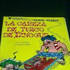 Cómics: COMIC GRIJALBO: IZNOGUD 6 LA CABEZA DEL TURCO IZNGUD EDICIONES JUNIOR 1979 PA. Lote 97727223