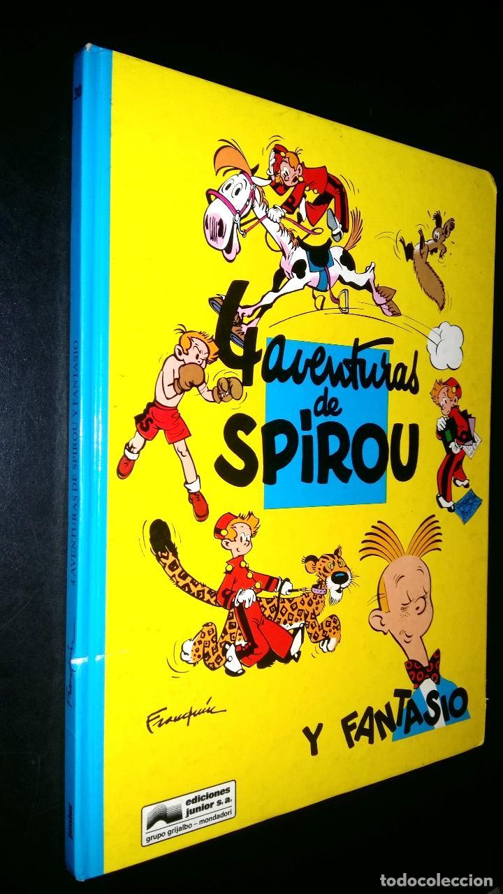 4 AVENTURAS DE SPIROU Y FANTASIO (Tebeos y Comics - Grijalbo - Spirou)