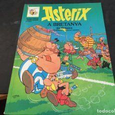Cómics: ASTERIX Nº 12 A BRETANYA . CATALAN - INGLES TAPA DURA (GRIJALBO). Lote 97813523