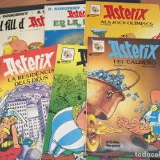 Comics: ASTERIX Nº 5, 13, 15, 17, 27 Y 28 TAPA DURA LOTE EN CATALAN (GRIJALBO) (COIB183). Lote 97813611