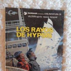 Cómics: UNA AVENTURA DE VALERIAN - LOS RAYOS DE HYPSIS N. 12. Lote 145818218