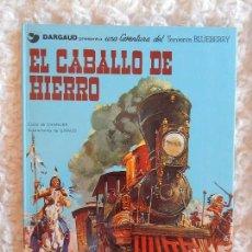 Cómics: UNA AVENTURA DEL TENIENTE BLUEBERRY - EL CABALLO DE HIERRO N. 3. Lote 98009771