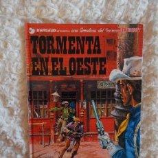 Cómics: UNA AVENTURA DEL TENIENTE BLUEBERRY - TORMENTA EN EL OESTE N. 17. Lote 98014291