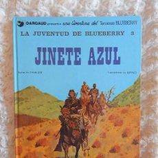 Cómics: UNA AVENTURA DEL TENIENTE BLUEBERRY -LA JUVENTUD DE BLUEBERRY - JINETE AZUL N. 14. Lote 98014827