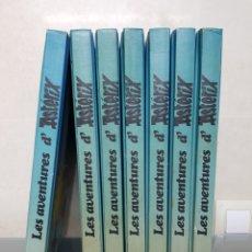 Cómics: LES AVENTURES D'ASTERIX 1980 GUAFLEX CATALA 1 AL 7 JÚNIOR GRIJALBO. Lote 98036583