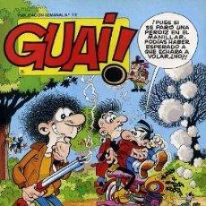 Cómics: GUAI! Nº 74. Lote 98079059